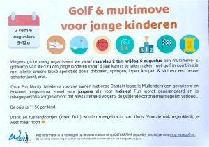 Golf & multimove voor jonge kinderen